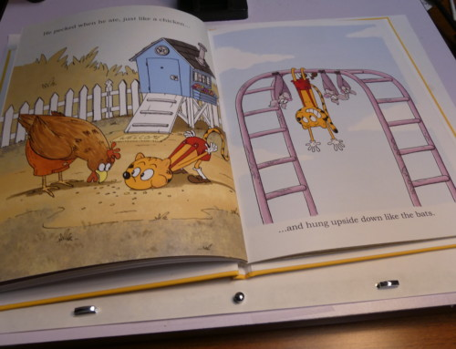 A Closer Look at the Interior Pages of COPY CAT vs THE BULLIES.