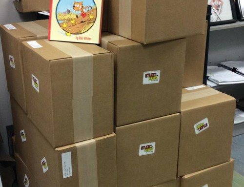 Copy Cat books are printed and waiting for pick up!